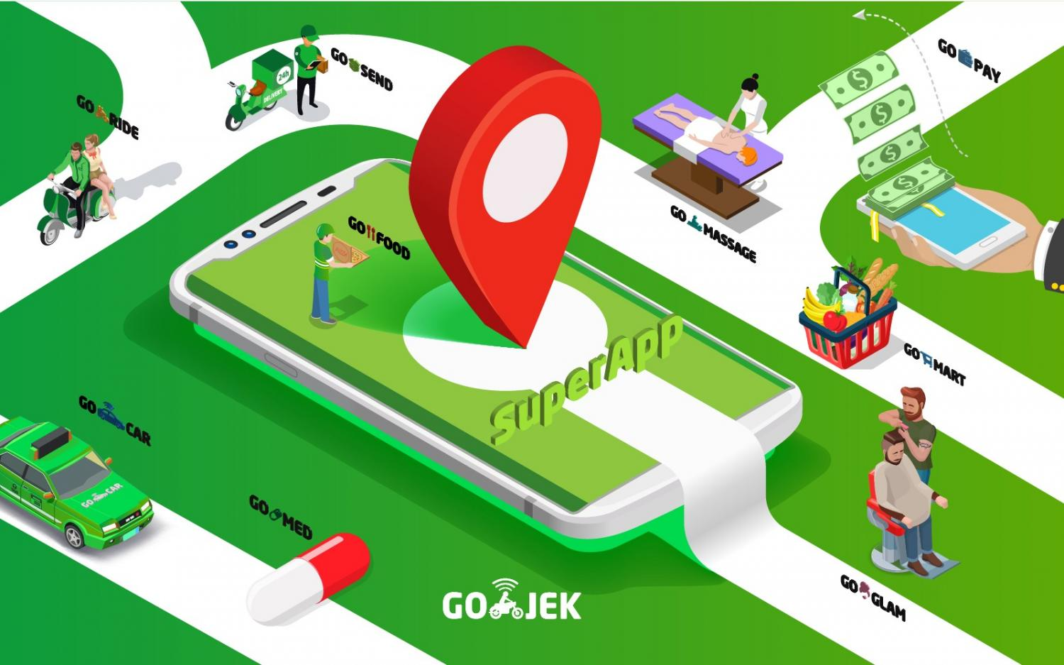 Grab and Gojek have diversified their services.