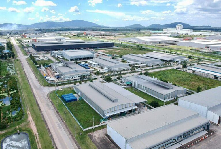 The Map Ta Phut Industrial Estate in Rayong province, operated by the IEAT. The IEAT is planning to open a new industrial estate in Chachoengsao.
