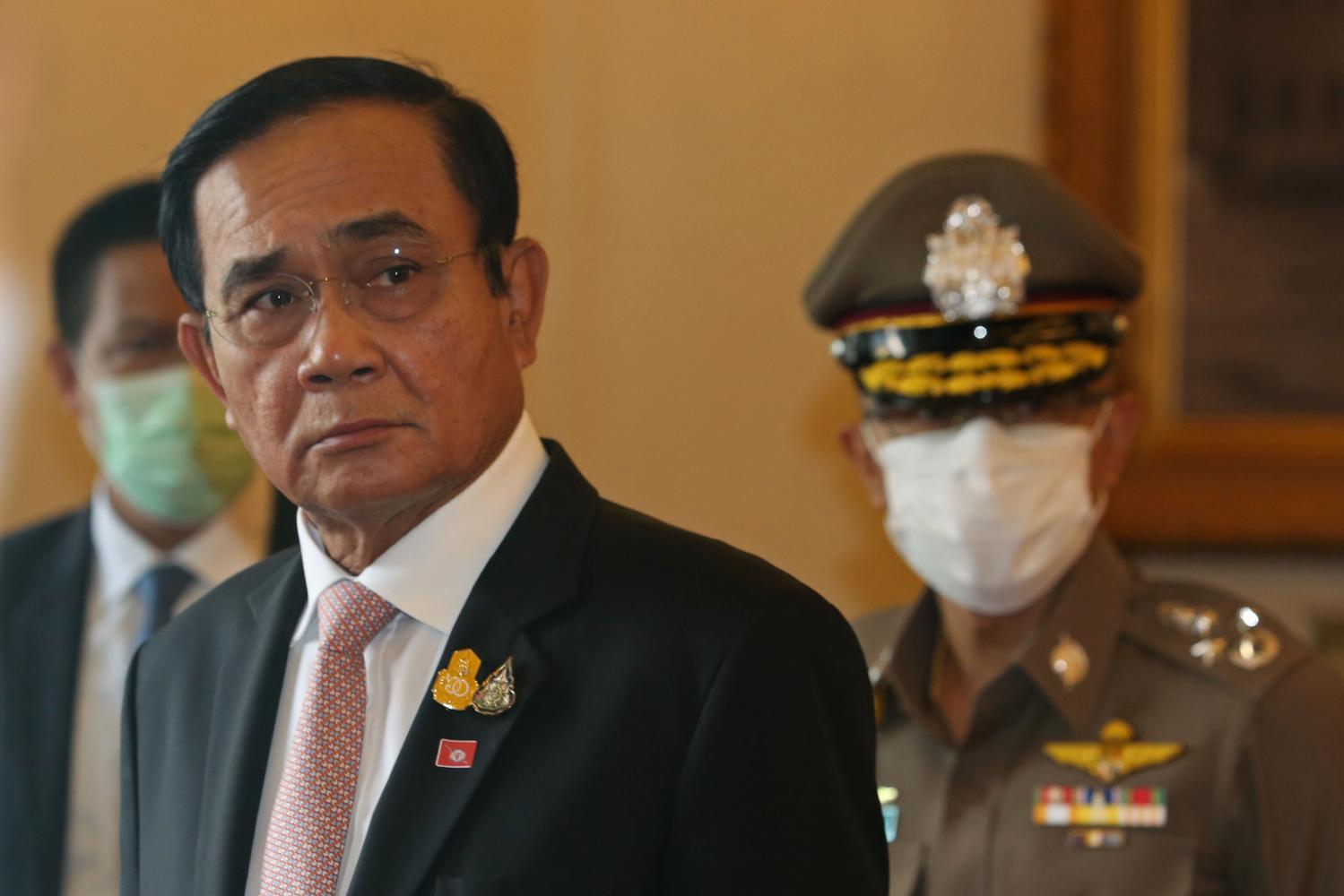 Prayut: Had been in self-isolation