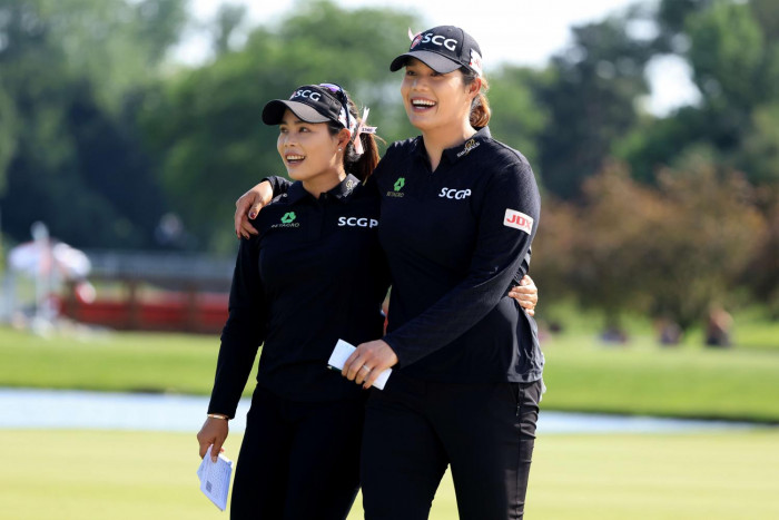 Sisters Ariya, Moriya target Evian success