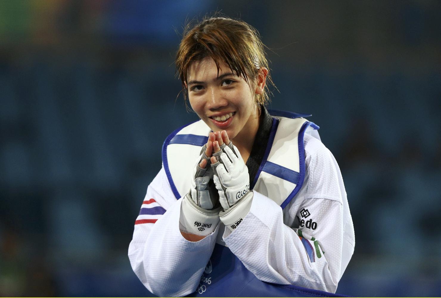 Taekwondo fighter Panipak Wongpattanakit.(Reuters photo)