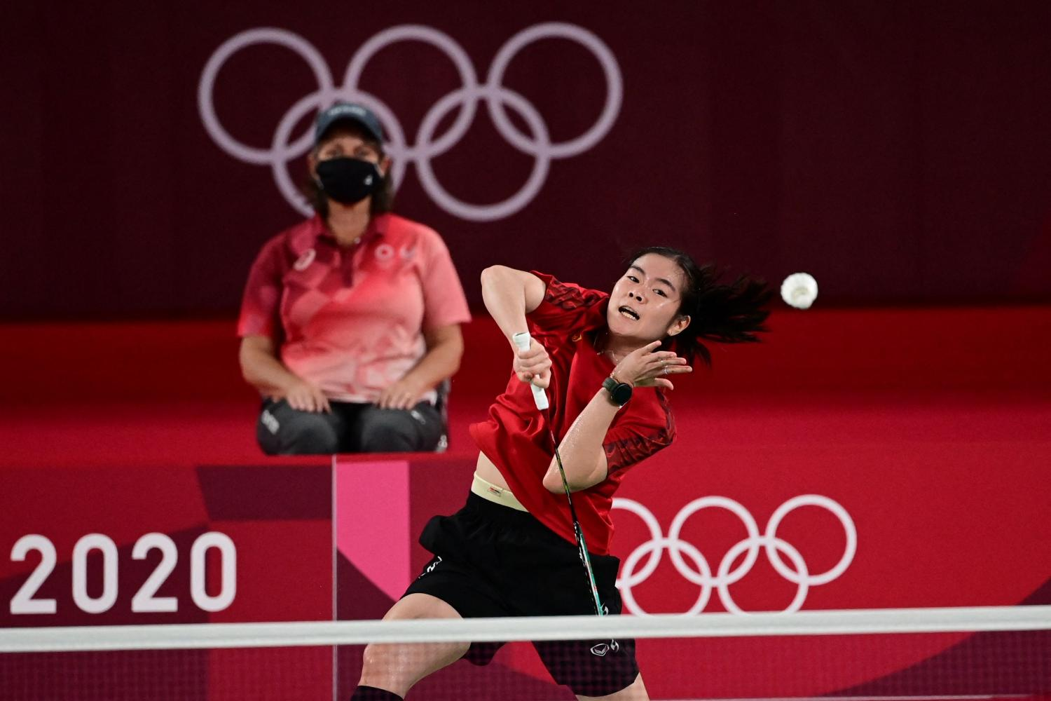 Busanan tops group, faces world No.8 An in quest for medal