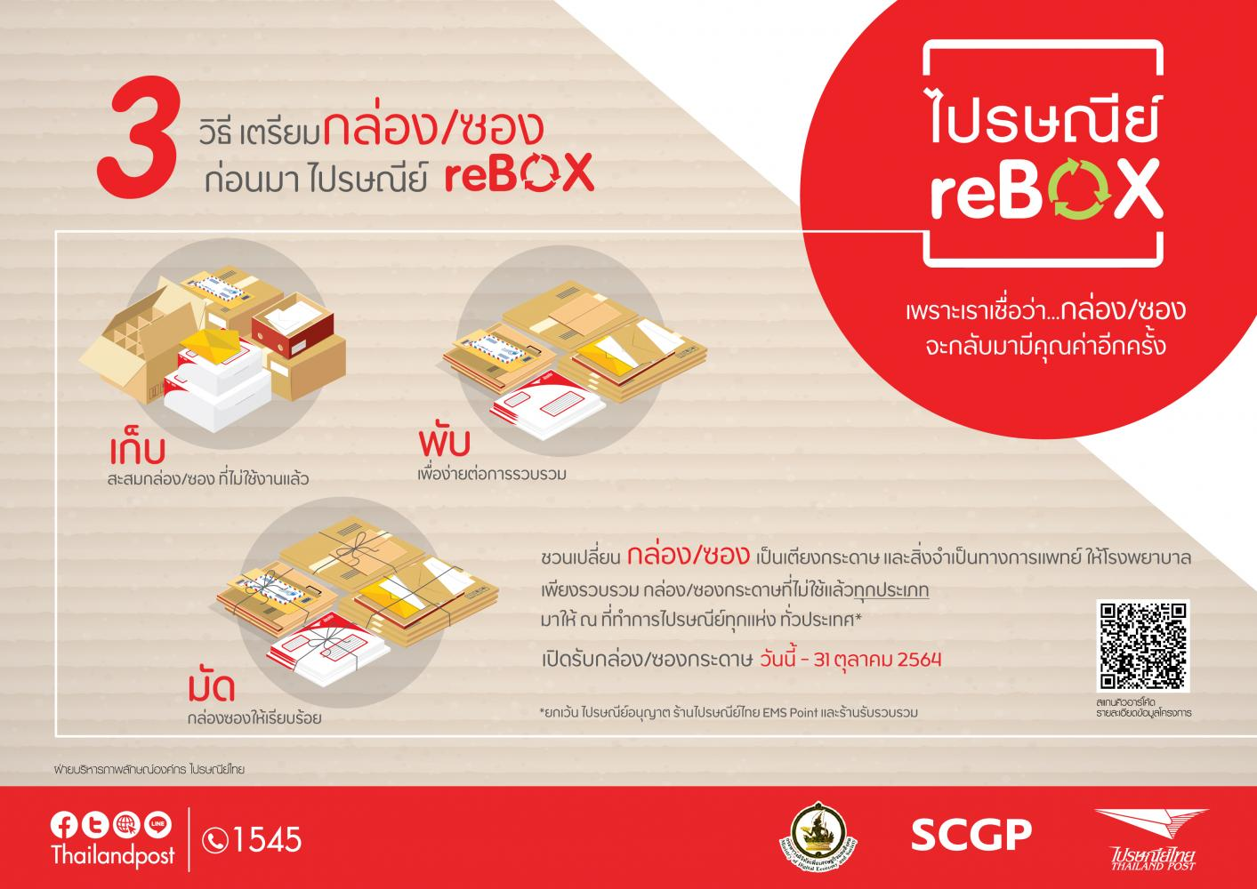 Thai Post wants your waste