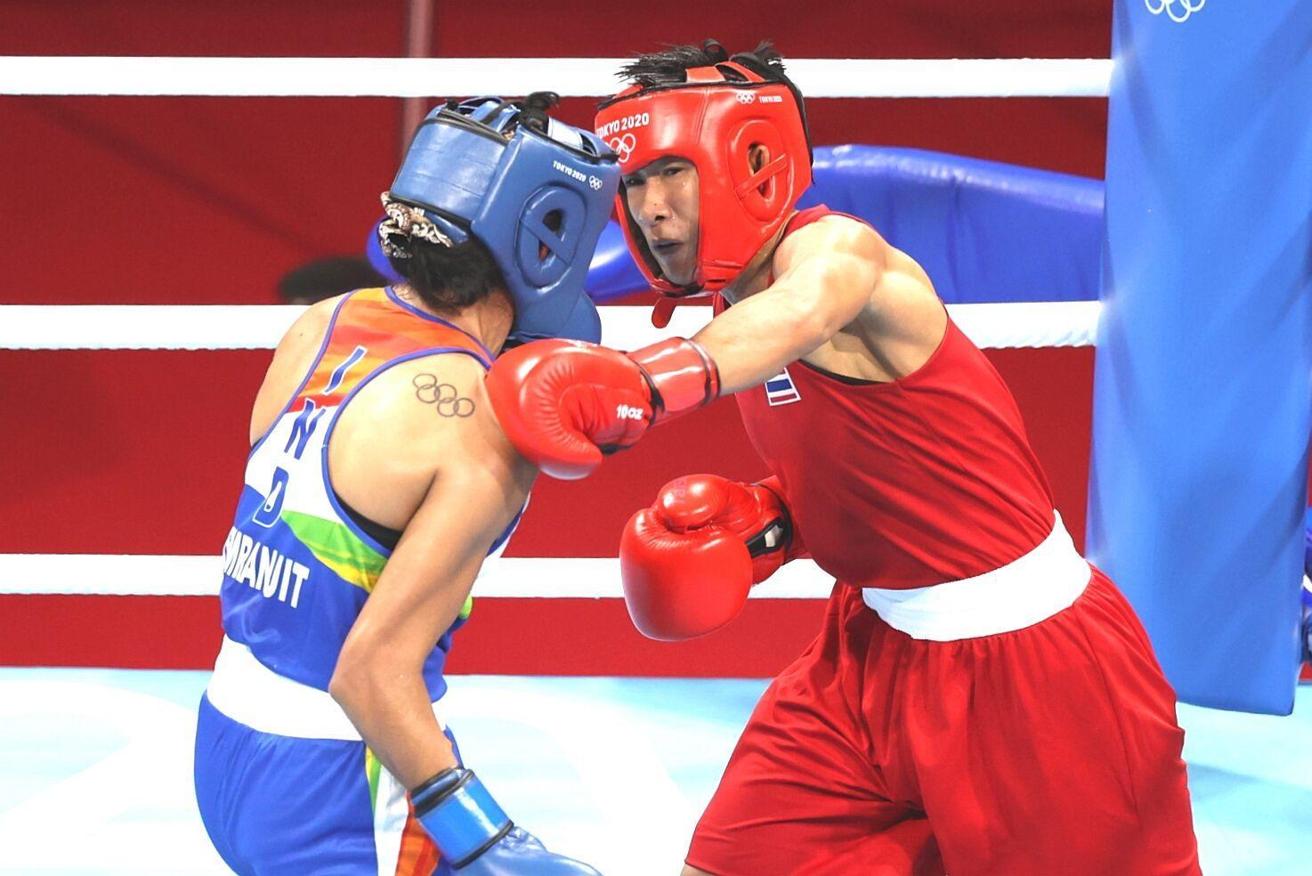 Boxer Sudaporn eyes podium finish