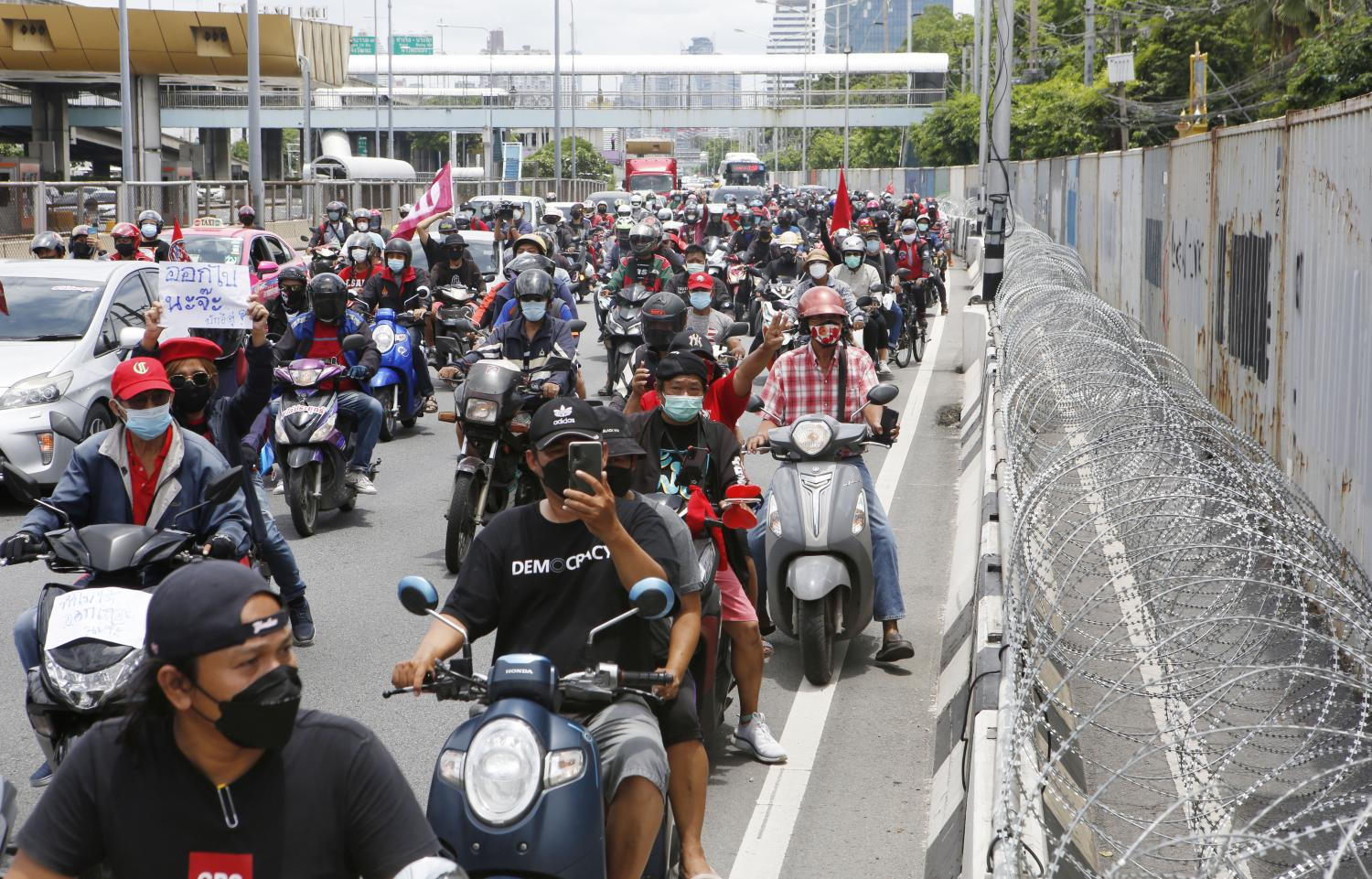 Police to act if anti-govt ralliers keep defying orders