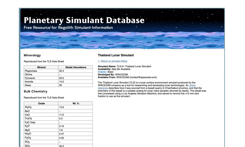 Thailand enters planet database