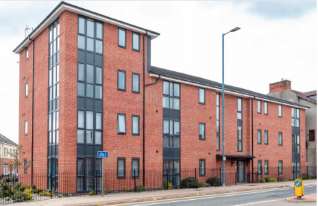 Belmont Place in Manchester's Salford has 16 apartment units.