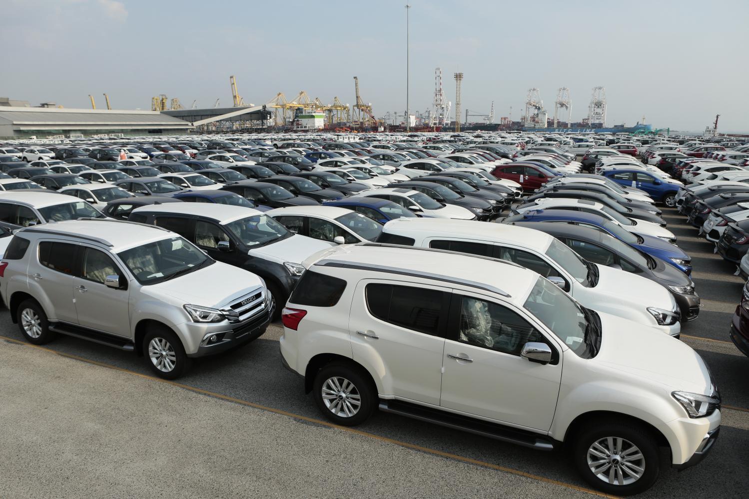 Tax on Thai cars