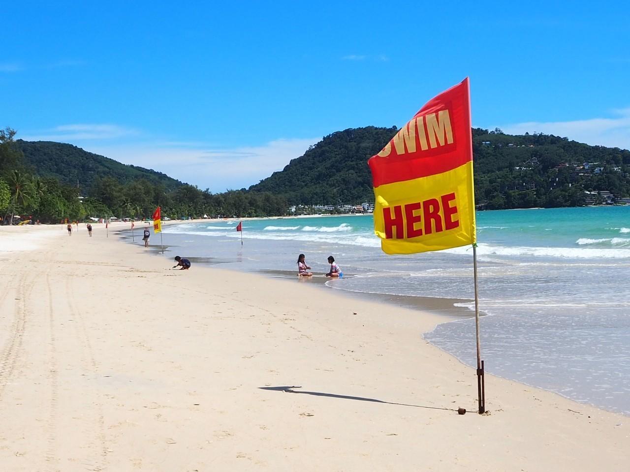 Patong beach in Phuket recently started to see a gradual increase in tourists thanks to the Phuket sandbox.Dusida Worrachaddejchai