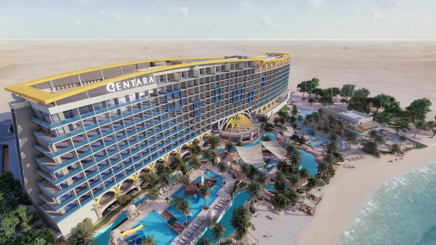 Centara Mirage Beach Resort Dubai will be the group's first property in the United Arab Emirates and its third Centara Mirage property after Thailand and Vietnam.