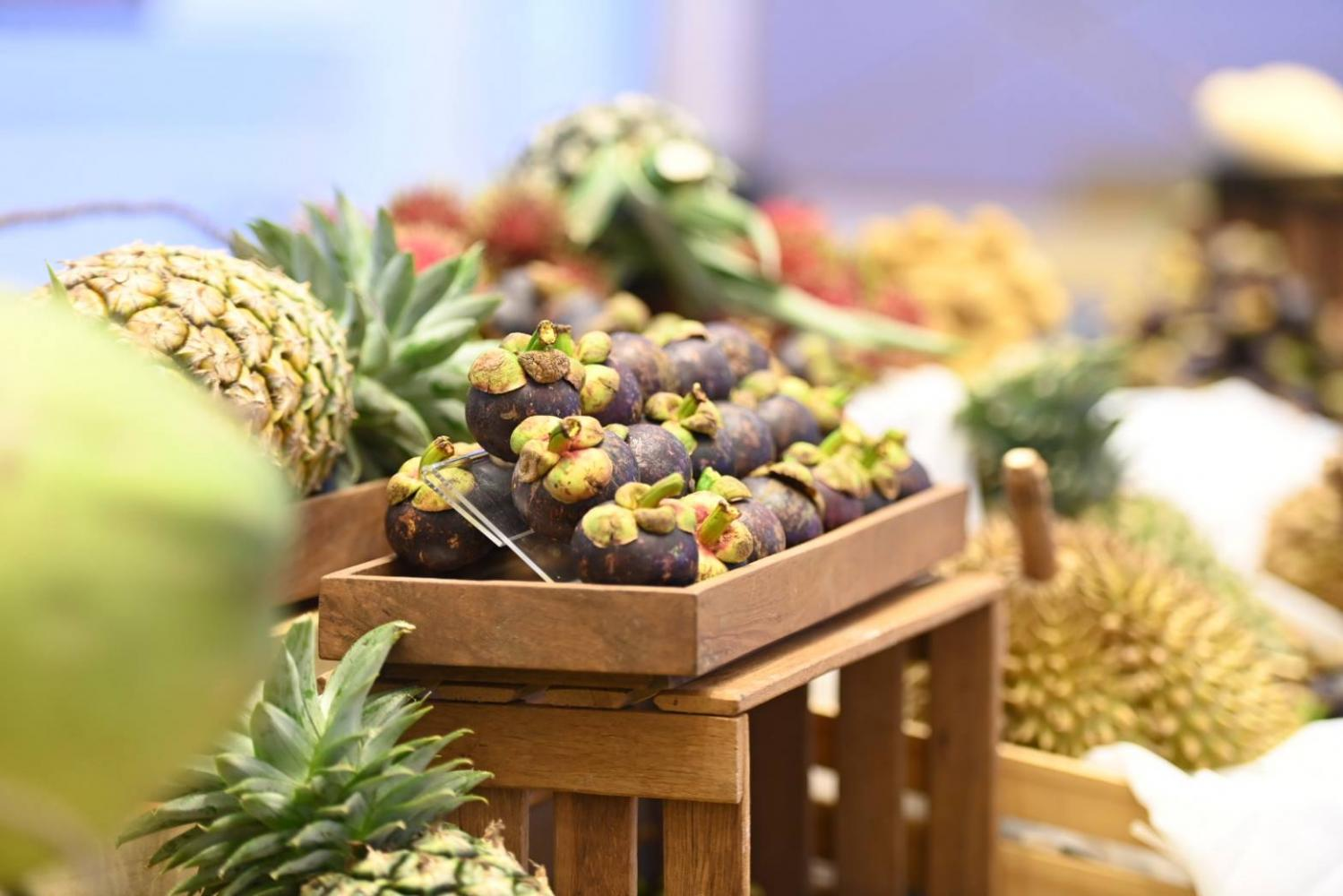 Thailand's frozen and processed fruit exports amounted to 131 billion baht in the first seven months this year.