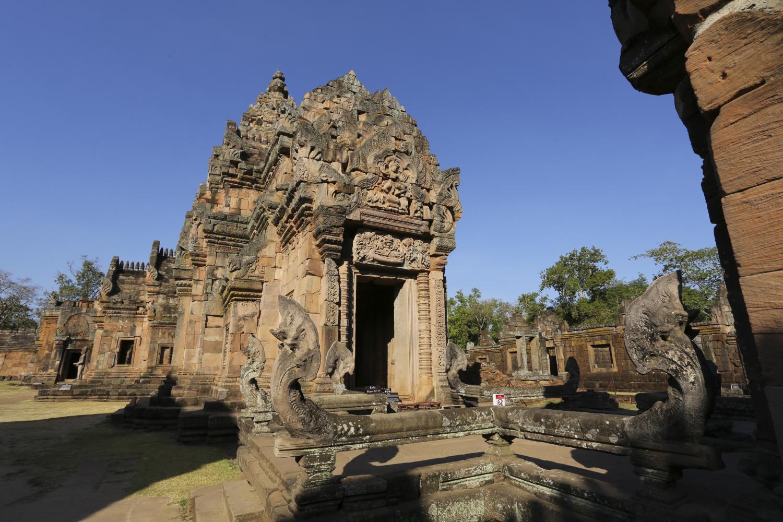 Phanom Rung Historical Park, a key tourist draw in Buri Ram province.
