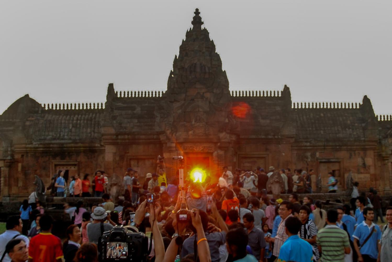 Phanom Rung light phenomenon returns in Oct