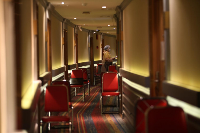 AQ hotels see occupancy rates plummet