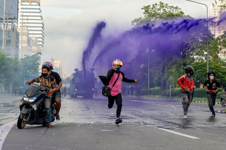 Protests follow a predictable path