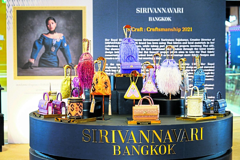 Sirivannavari Bangkok launches new  handbag collection
