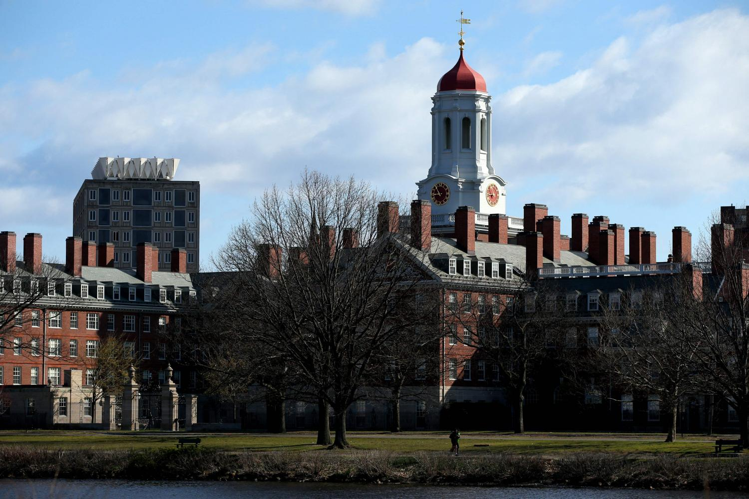 Harvard University claims the top spot for the fifth straight year.(Photo: AFP)