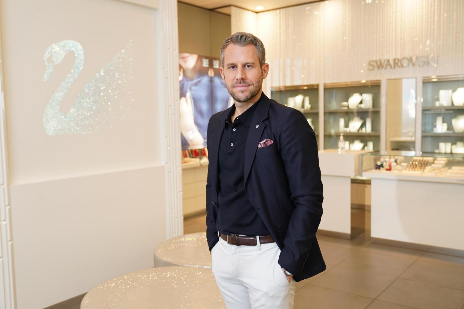 Lars Schmidt, managing director, Swarovski consumer goods business - Southeast Asia and India SUPPLIED