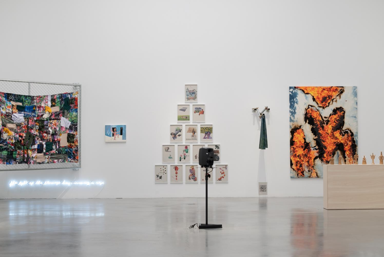 Exhibition places trauma of  current events in the spotlight