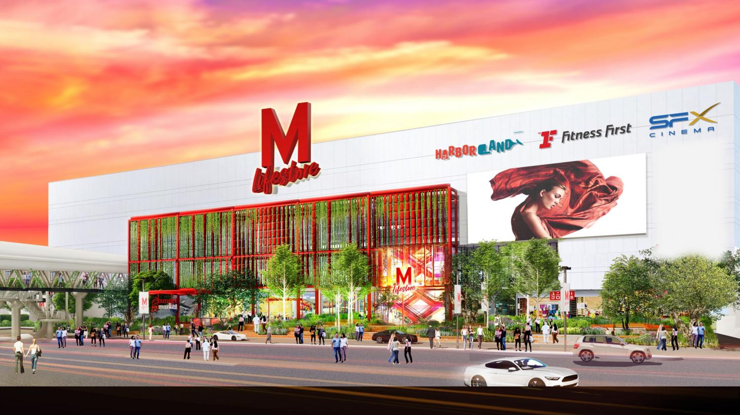 The Mall will completely transform its Tha Phra branch and relaunch a new image on Dec 2 this year.