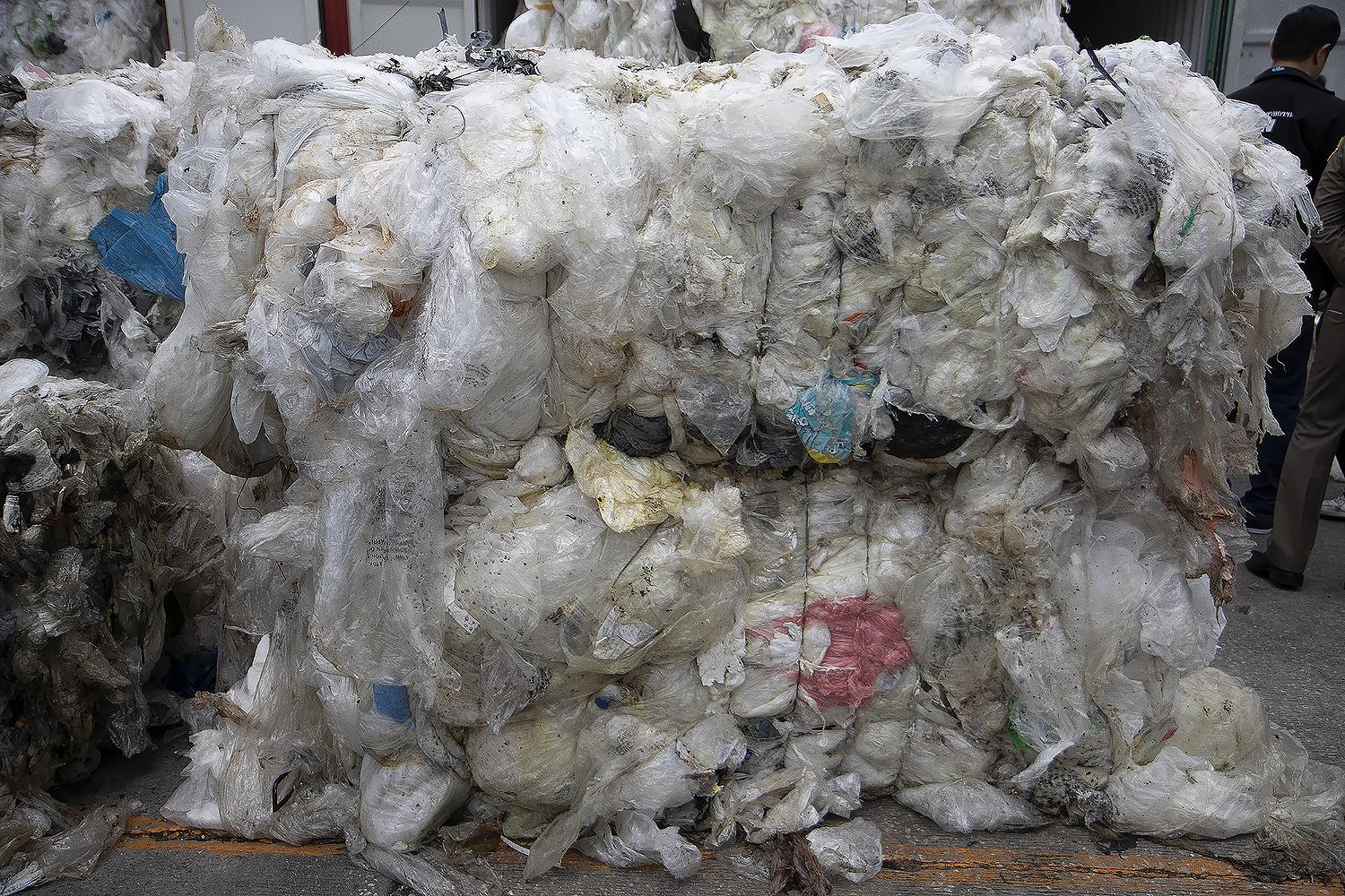 Plastic waste is a growing problem that has been exacerbated by a huge spike in the use of disposable packaging for deliveries during Covid lockdowns. Photo: Karnt Thassanaphak