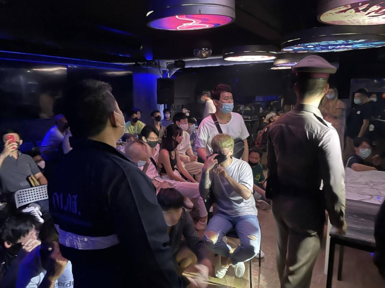 Cops catch curfew breakers at Korea Town restaurant bash