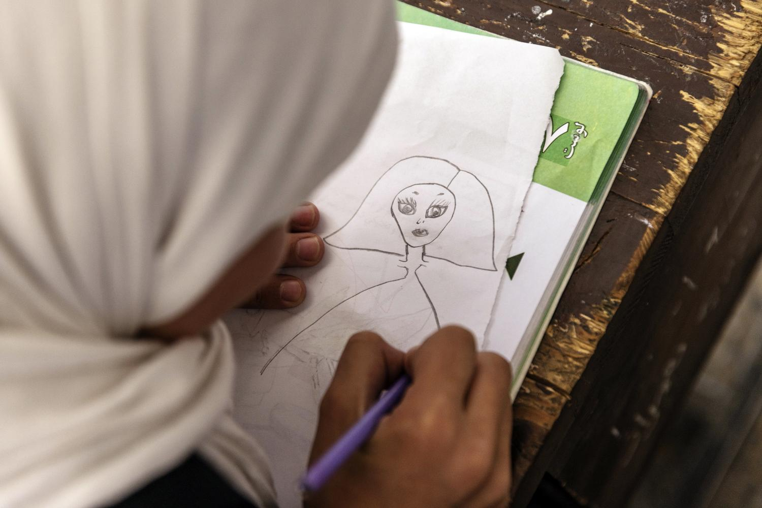 Advocating for Afghan girls' education