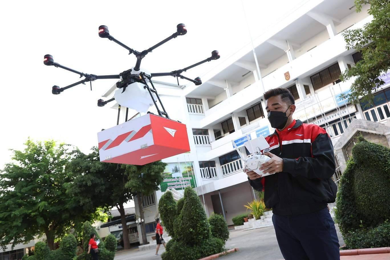 Thailand Post starts drone deliveries