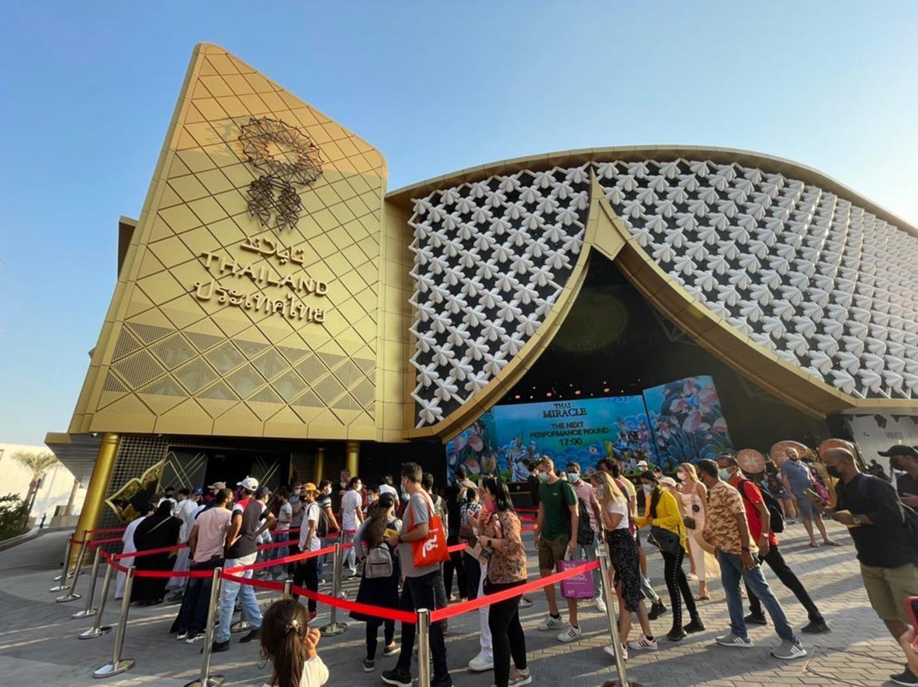 100,000 visit pavilion in Dubai