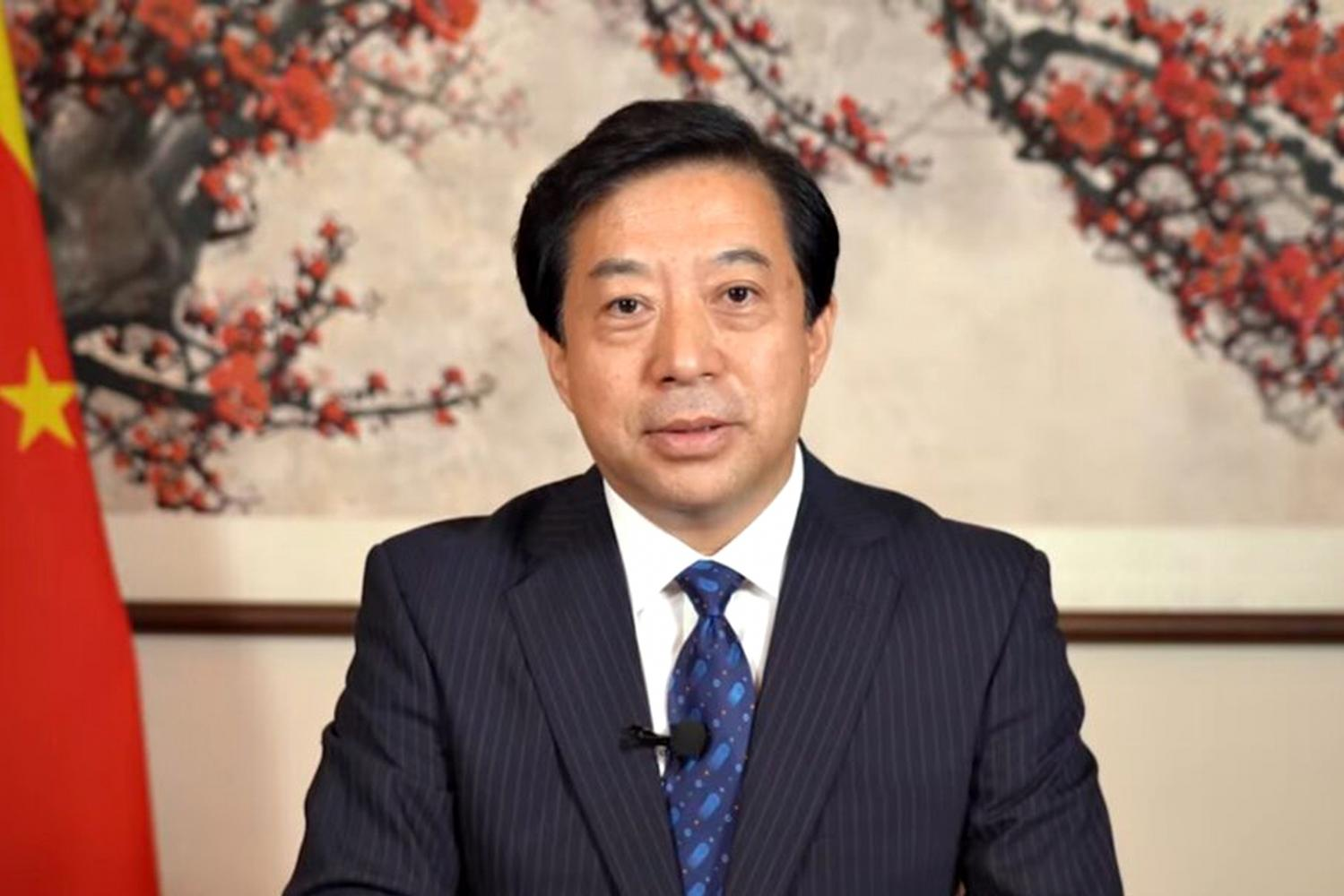 China envoy highlights study issue