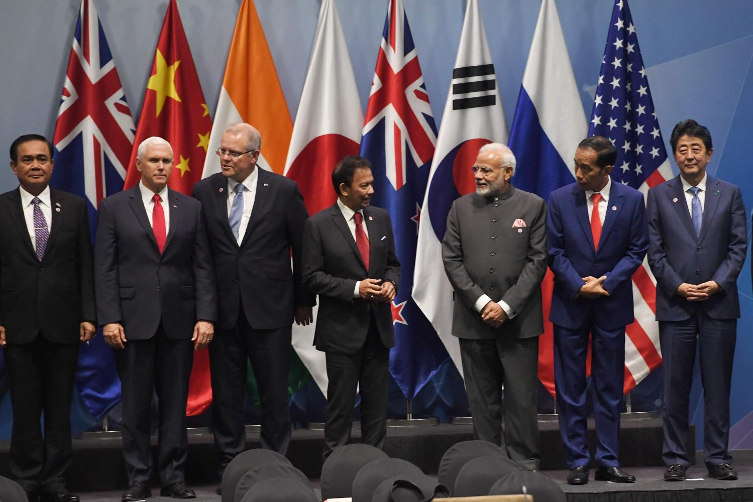 Asean leaders face off with big powers